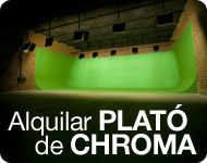 Alquilar plató de chroma (green screen)